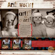 Layout by Cherise Oleson (see below for products used and links)
