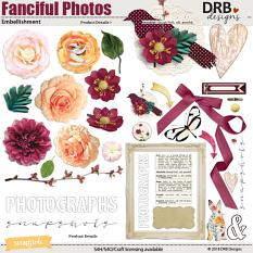 Fanciful Photos Embellishment by DRB Designs | ScrapGirls.com