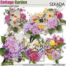 Cottage Garden Embellishment Mini Cluster