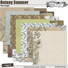 Botany Summer Papers Biggie by Florju designs