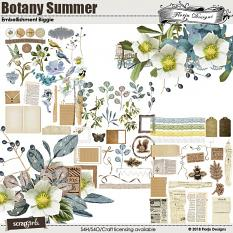 Botany Summer Embellishment Biggie by Florju Designs