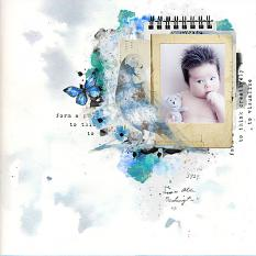 layout using Imagine Embellishment Mini : Cluster Pack 2 by Florju Designs