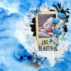 layout using Imagine Collection Biggie by Florju Designs