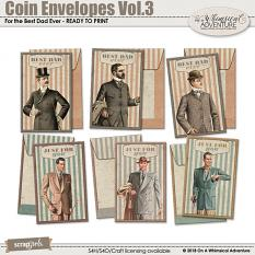 Coin Envelopes Vol3 by On A Whimsical Adventure