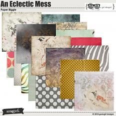 An Eclectic Mess Paper Biggie by geekgirl designs