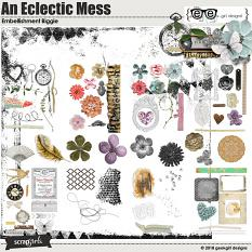 An Eclectic Mess Embellishment Biggie by geekgirl designs