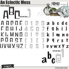 An Eclectic Mess Alpha Biggie by geekgirl designs