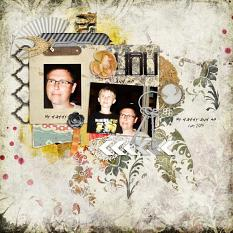 My Daddy by geekgirl designs Creative Crew member Carole Nyssen. Using An Eclectic Mess