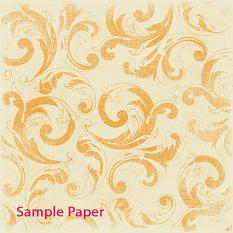 Sample Paper using ScrapSimple Paper Templates: Distressed Flourished Overlays • Set 03