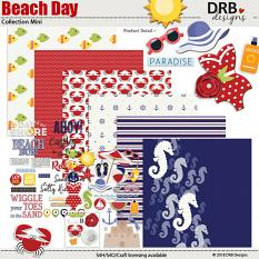 Beach Day Collection Mini by DRB Designs | ScrapGirls.com