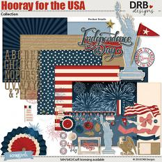 Hooray for the USA Collection by DRB Designs | ScrapGirls.com