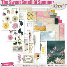 The Sweet Smell Of Summer Printable Collection by On A Whimsical Adventure
