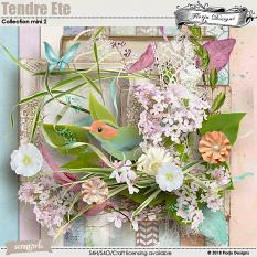 Tendre Ete Collection Mini 2 by Florju designs