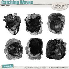 Catching Waves Photo Masks by On A Whimsical Adventure