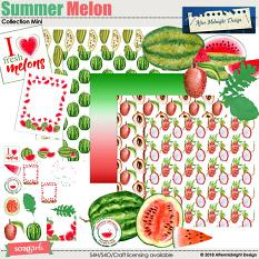Summer Melon Super Mini by Aftermidnight Design