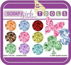 Also available: SScrapSimple Tools - Styles: Jeweled 6302 Biggie