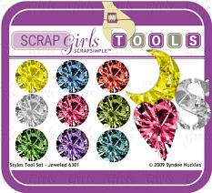 Also available: ScrapSimple Tools - Styles: Jeweled 6301 Biggie