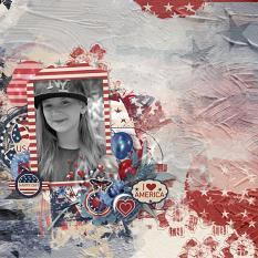 Red White Blue LO1