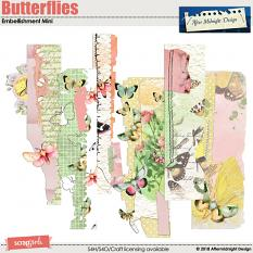 Butterfleis Collection Mini Edges by Aftermidnight Design