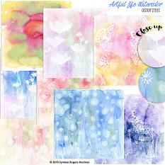 Samples of Artful Life Custom Layer Styles