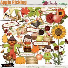 Apple Picking Embellishments By Charly Renay