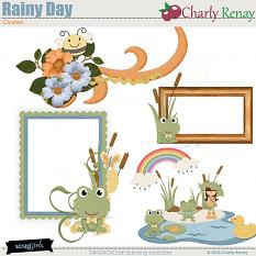 Rainy Day Clusters By Charly Renay
