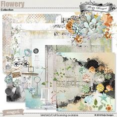 Flowery Collection by florju designs