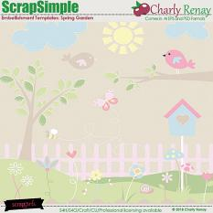 Spring Garden Templates By Charly Renay