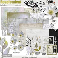 Resplendent Collection by DRB Designs | ScrapGirls.com