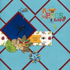 Layout made By Rachel using A Bugs Life Collection By Charly Renay