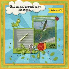 Layout made By Kathy using A Bugs Life Collection By Charly Renay