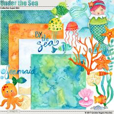Under the Sea watercolor digital kit