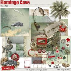 Flamingo Cove Collection by Designs by Helly