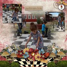Layout using Alice Collection