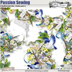 Value Pack : Passion Sewing by Florju Designs
