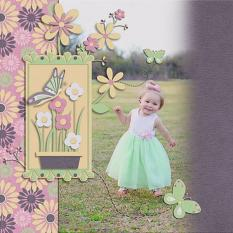 Layout By Sonya with Grow With Love Collection By Charly Renay