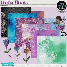 Bless Your Heart Art Journal Collection Backgrounds