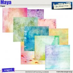Maya Papers by Aftermidnight Design