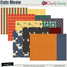 Cats Meow Papers By Charly Renay