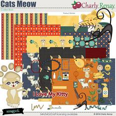 Cats Meow Collection By Charly Renay