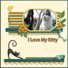 Layout By Dady using Cats Meow By Charly Renay