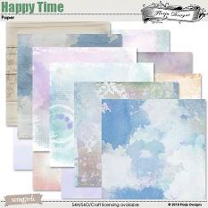 Happy Time Papers by florju designs
