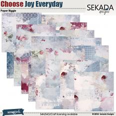 Choose Joy Every Day Paper Biggie