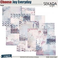 Choose Joy Every Day Paper