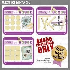 """<a href=""""http://store.scrapgirls.com/product/22551/"""">Action Pack: Mega Lift PS (Photoshop CS Versions)</a><br /><i>(Sold Separately)</i>"""