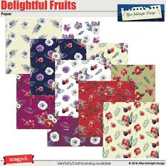 Delightful Fruits Papers by Aftermidnight Design