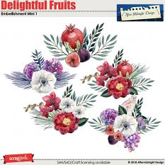 Delightful Fruits Embellishment Mini 1 by Aftermidnight Design