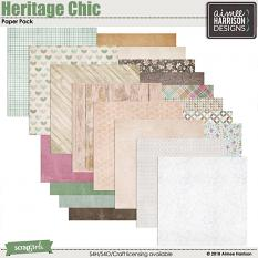 Heritage Chic Papers