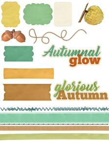 Autumn Glow Elements