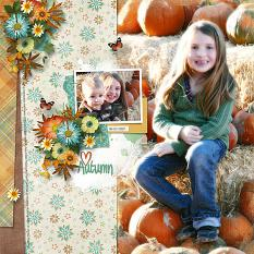 Autumn Glow Layout
